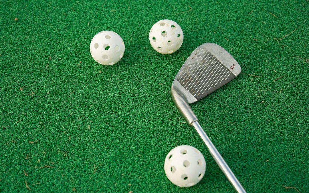putting green play golf